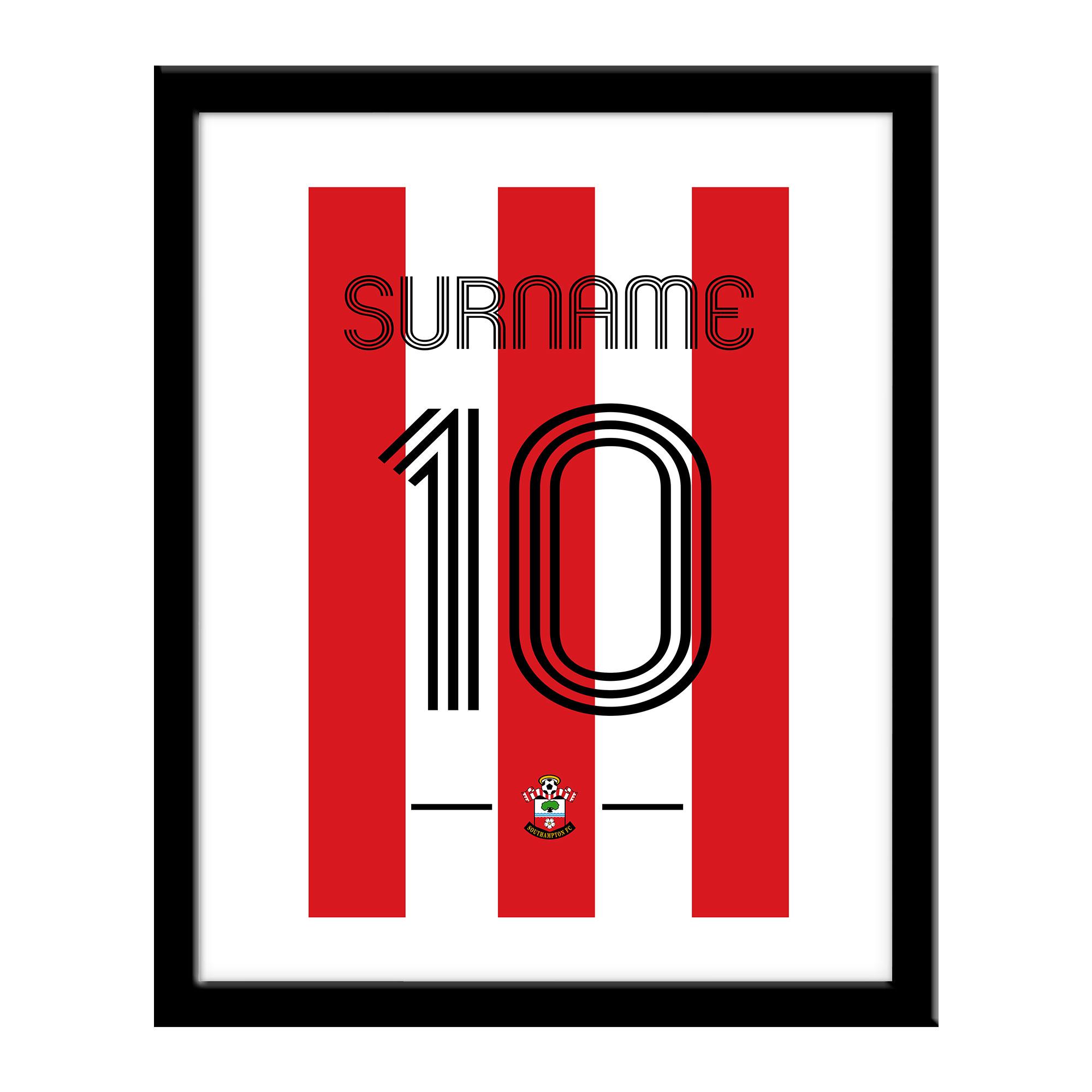 Southampton FC Retro Shirt Print