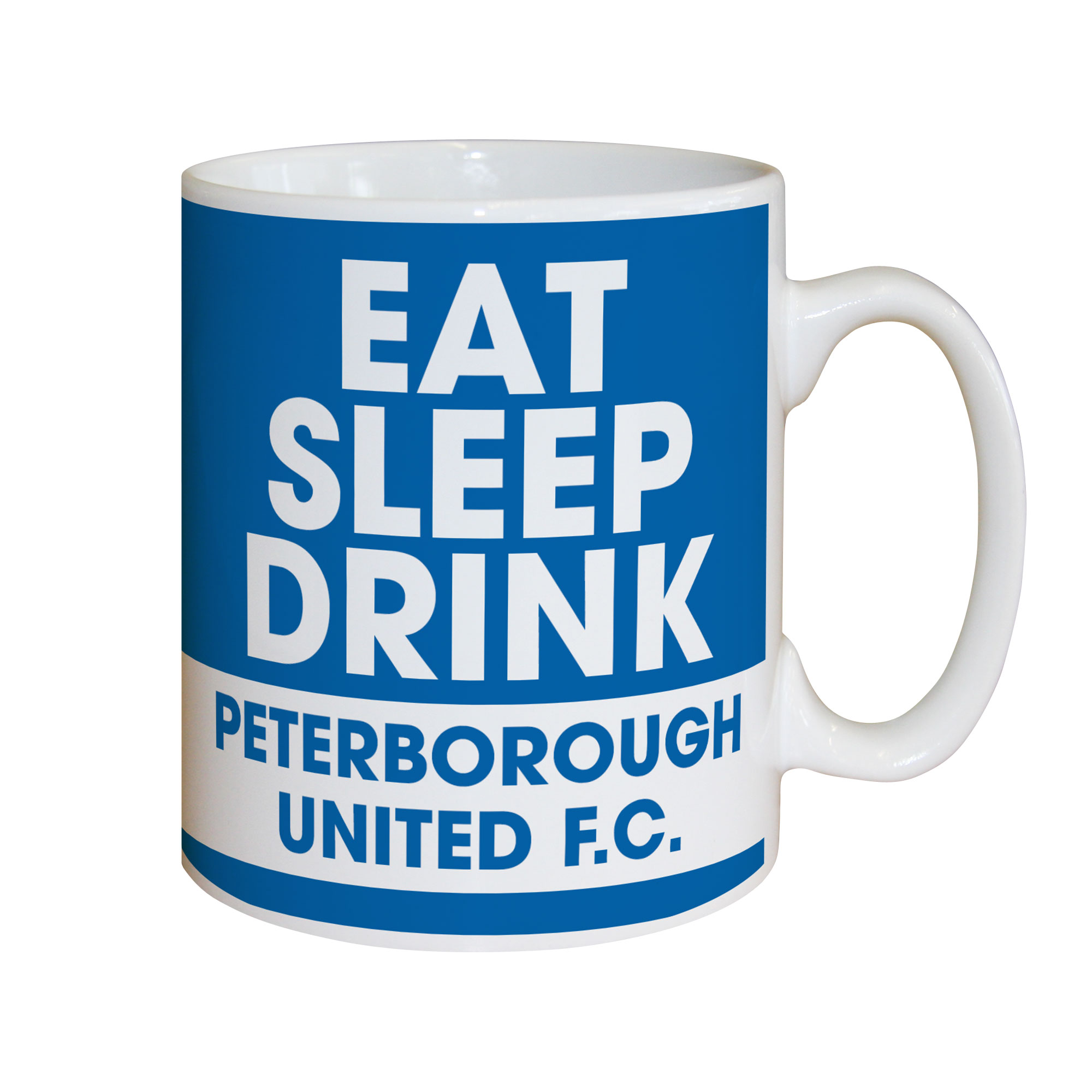 Peterborough United FC Eat Sleep Drink Mug