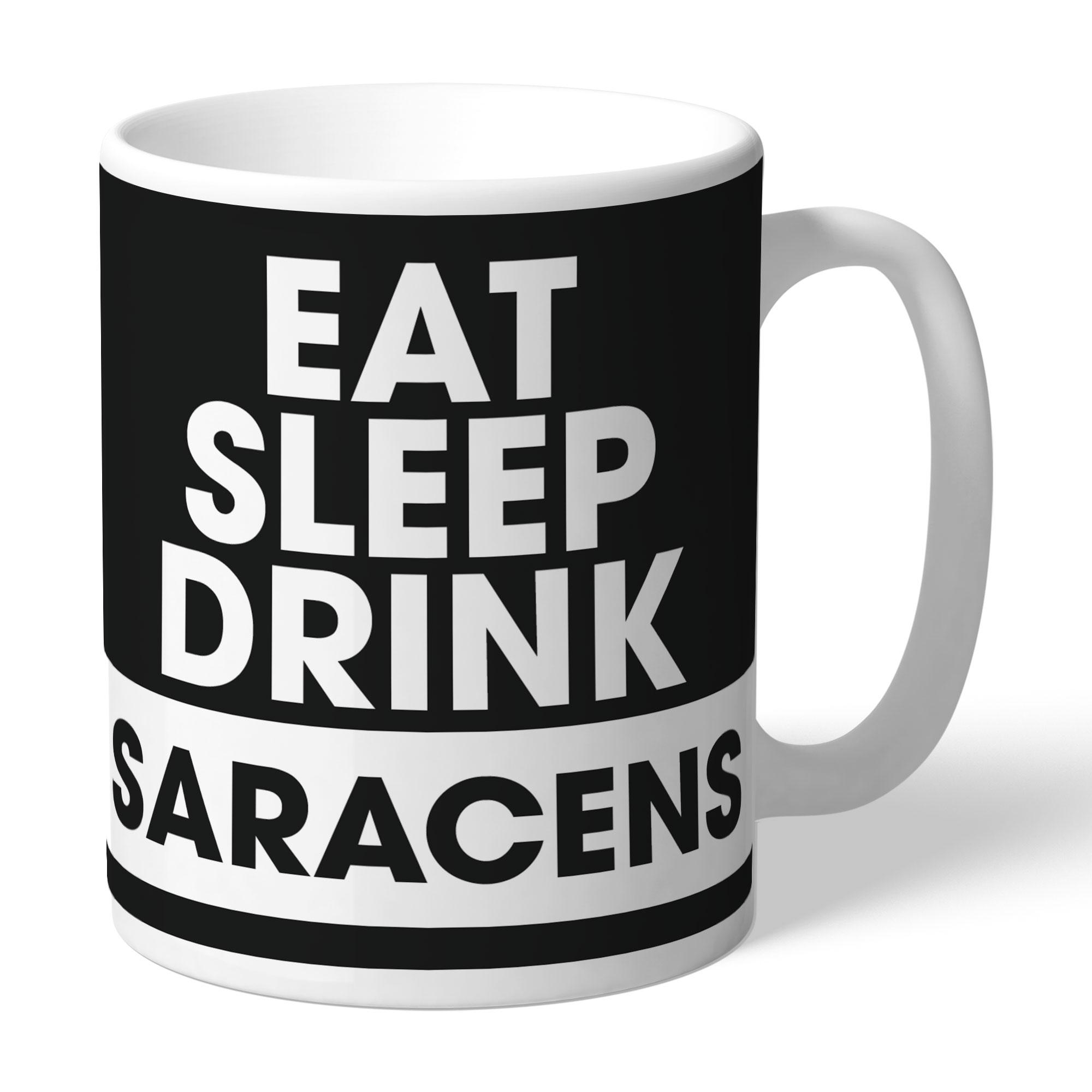 Saracens Eat Sleep Drink Mug