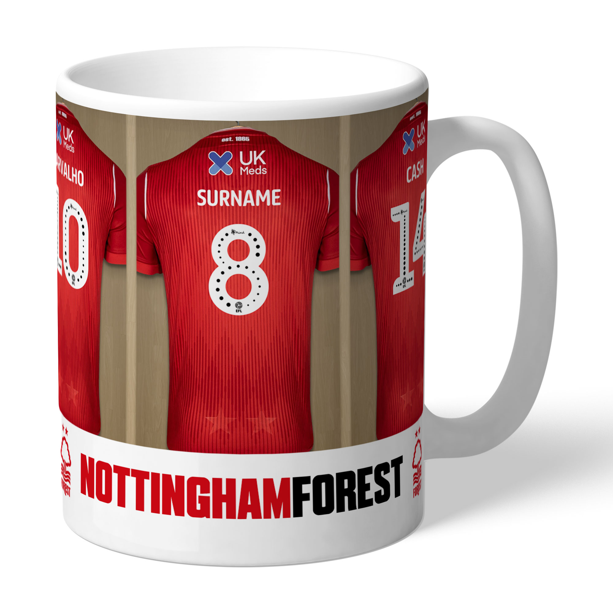 Nottingham Forest FC Dressing Room Mug