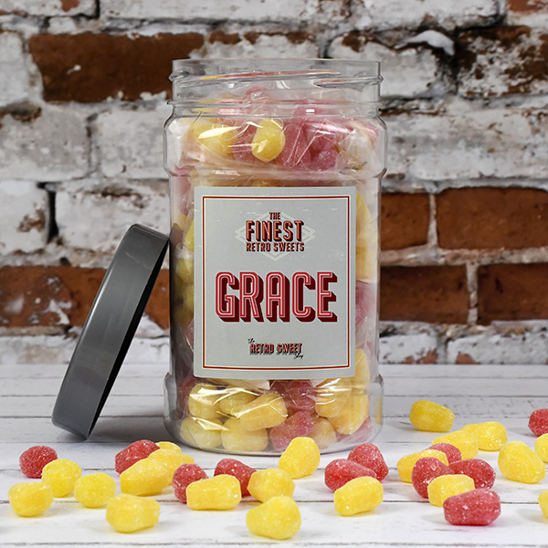 Pear Drops Sweet Jar