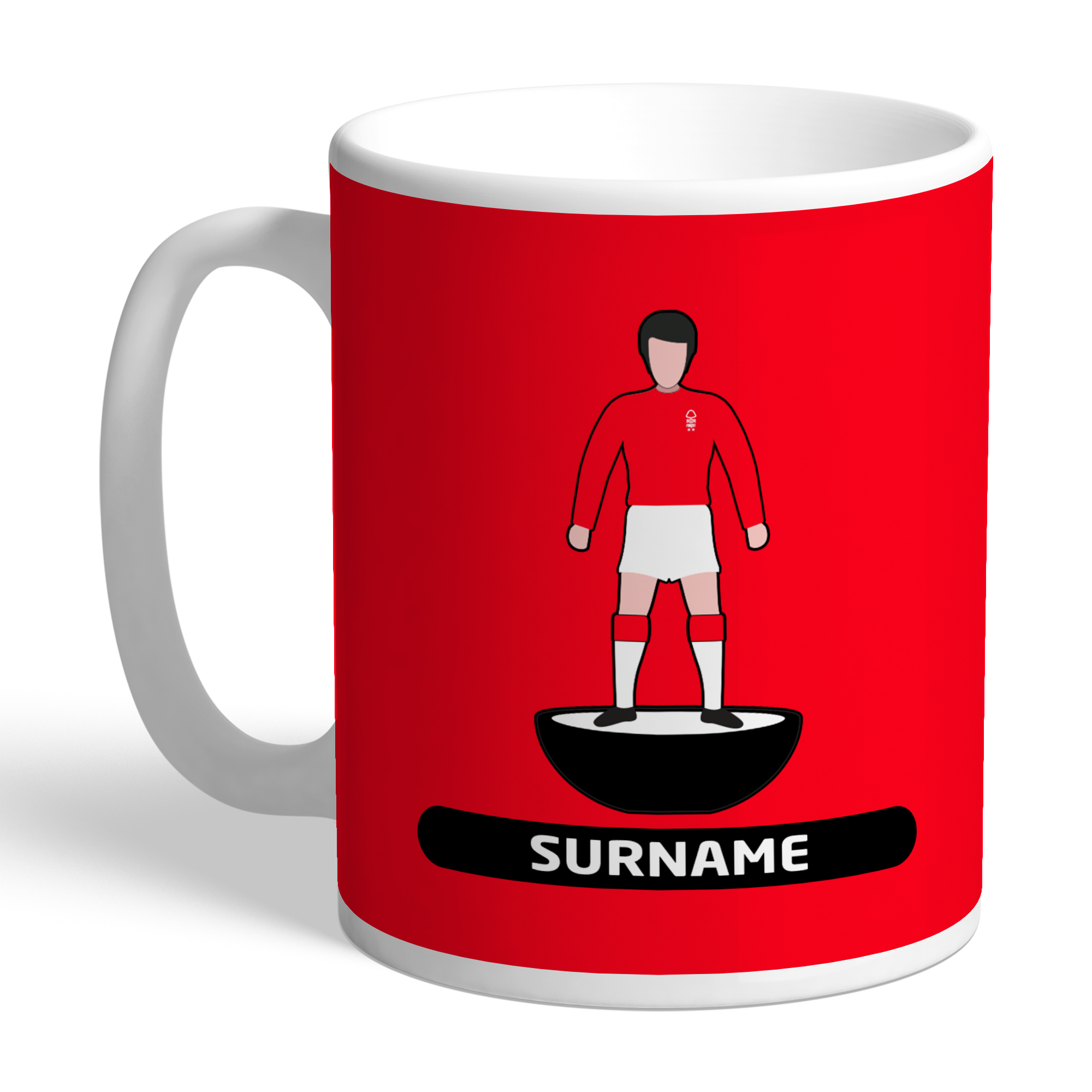 Nottingham Forest FC Player Figure Mug