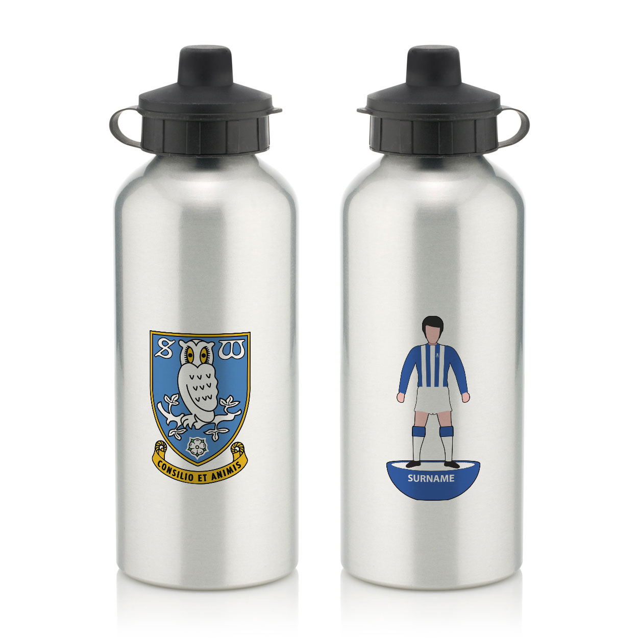 Sheffield Wednesday Player Figure Water Bottle