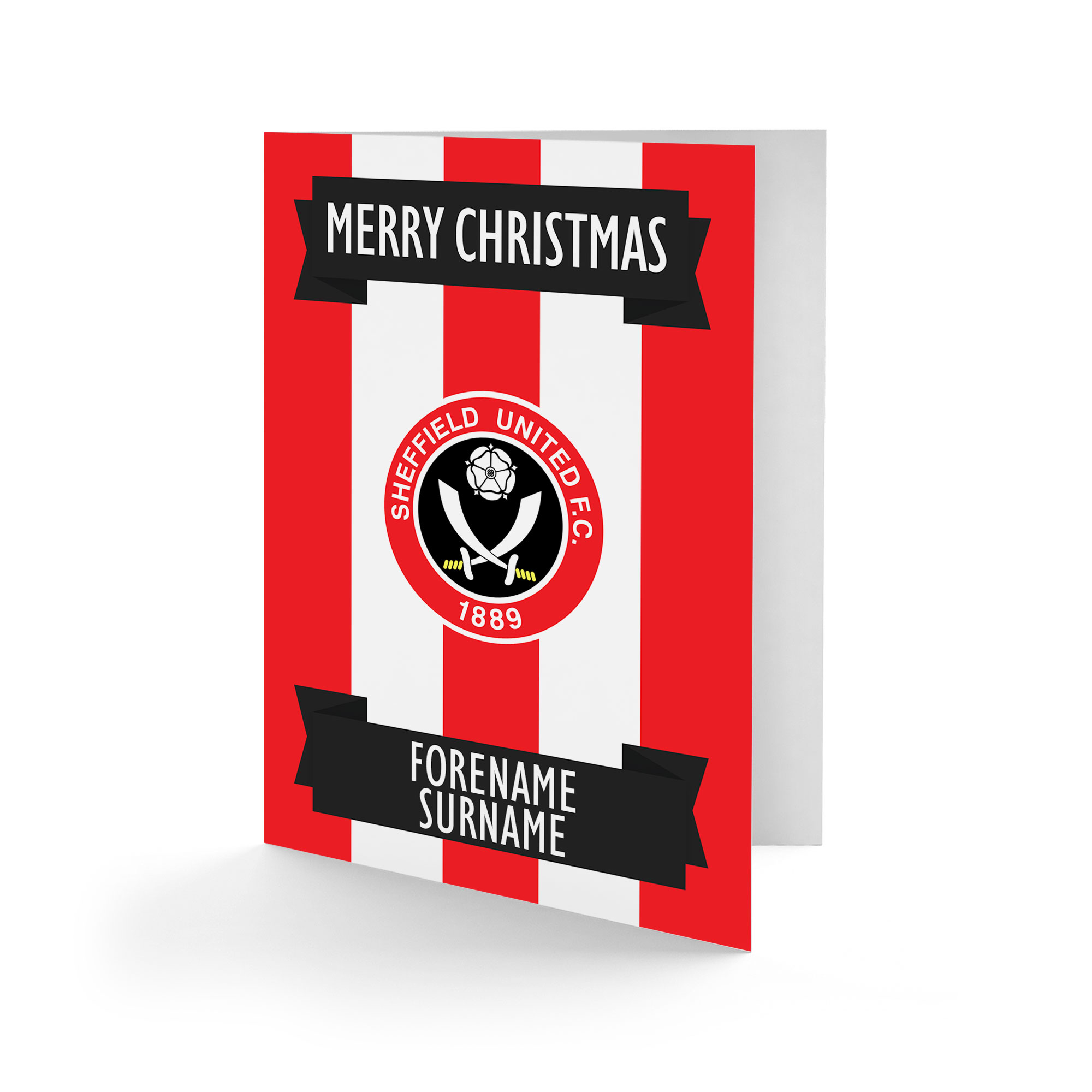 Sheffield United FC Crest Christmas Card
