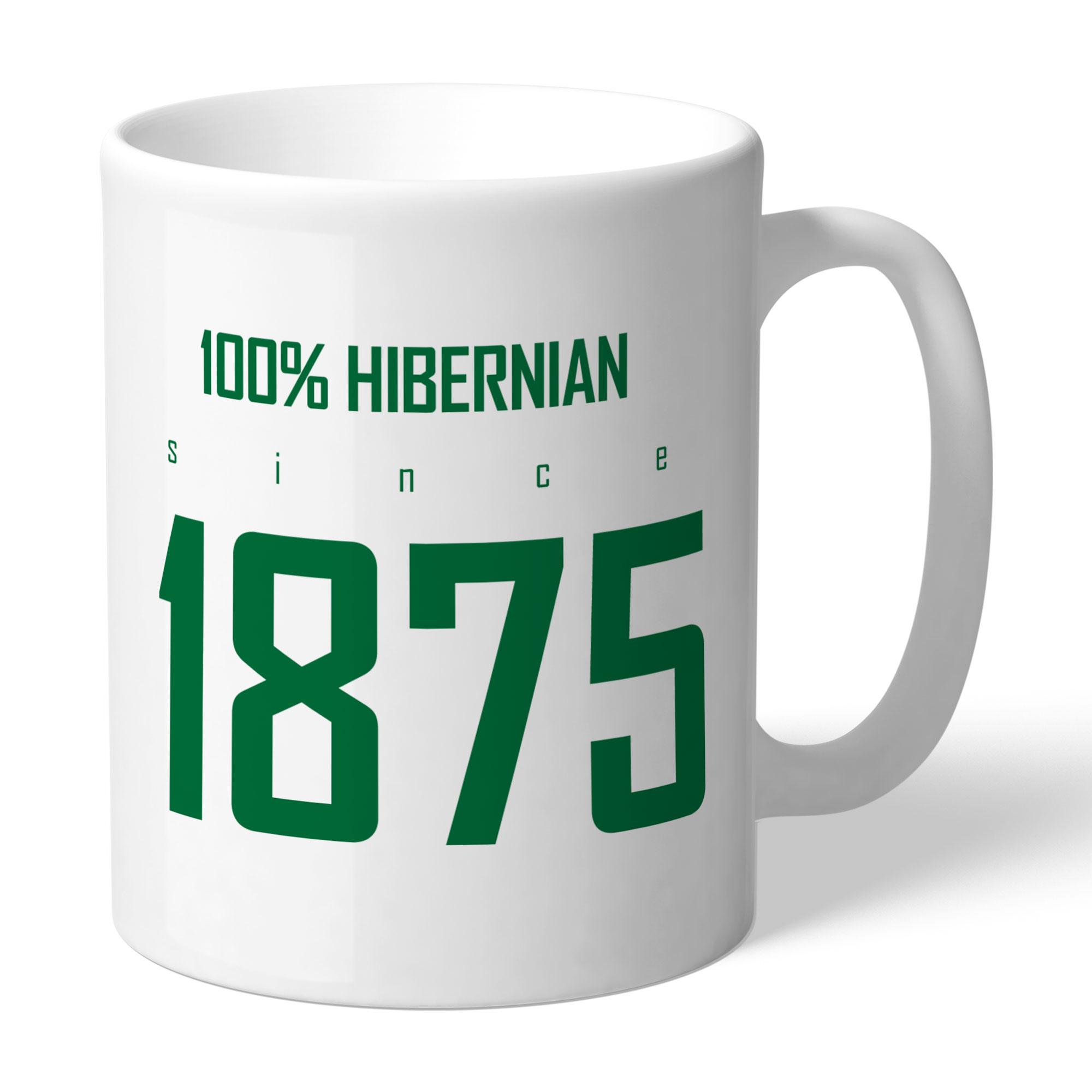 Hibernian FC 100 Percent Mug