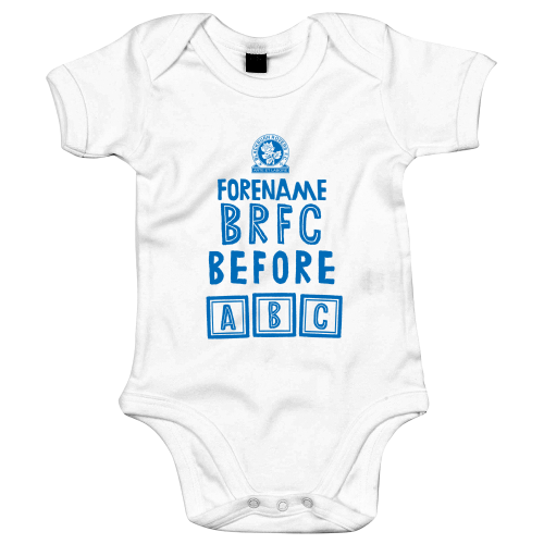 Blackburn Rovers FC Before ABC Baby Bodysuit