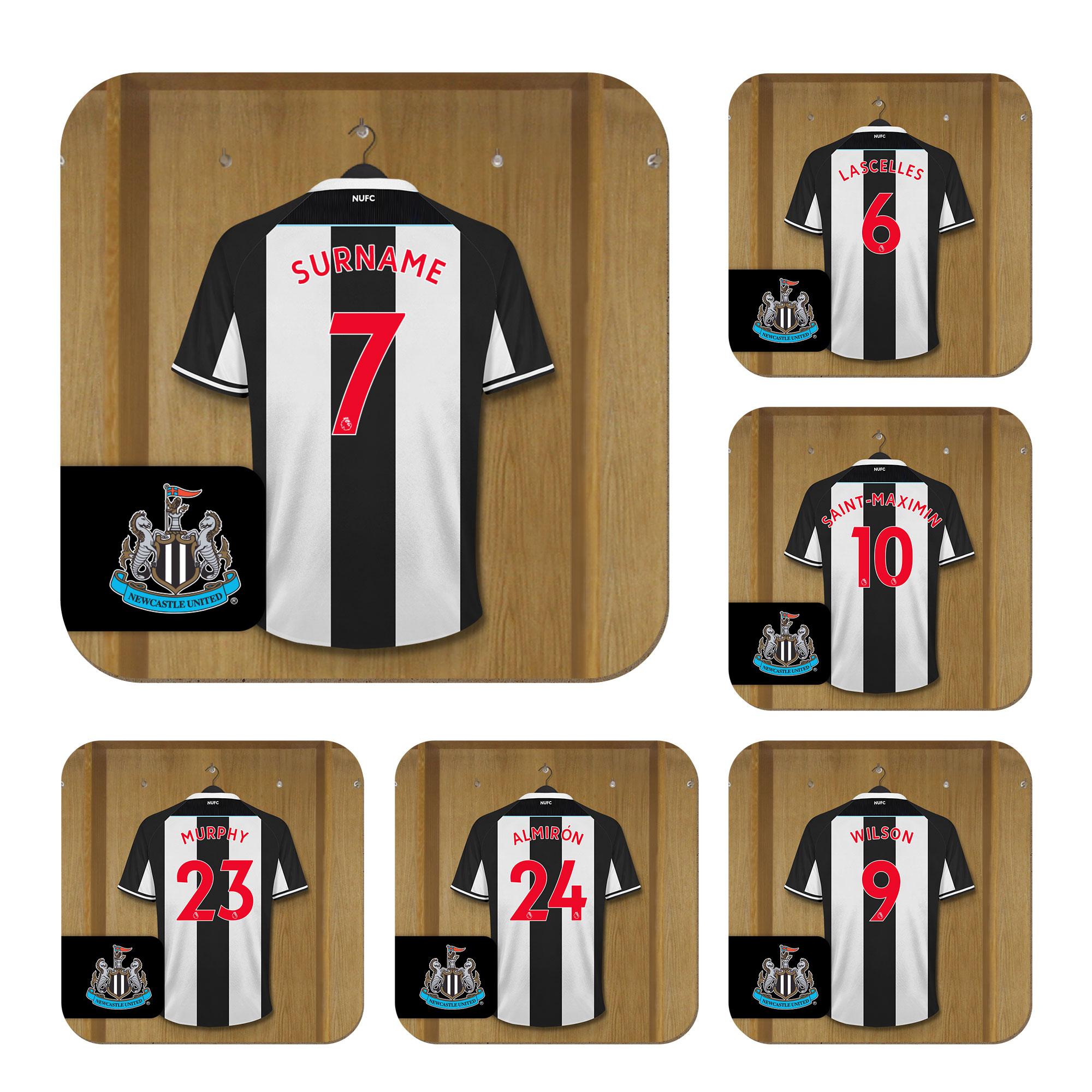 Newcastle United FC Dressing Room Coasters
