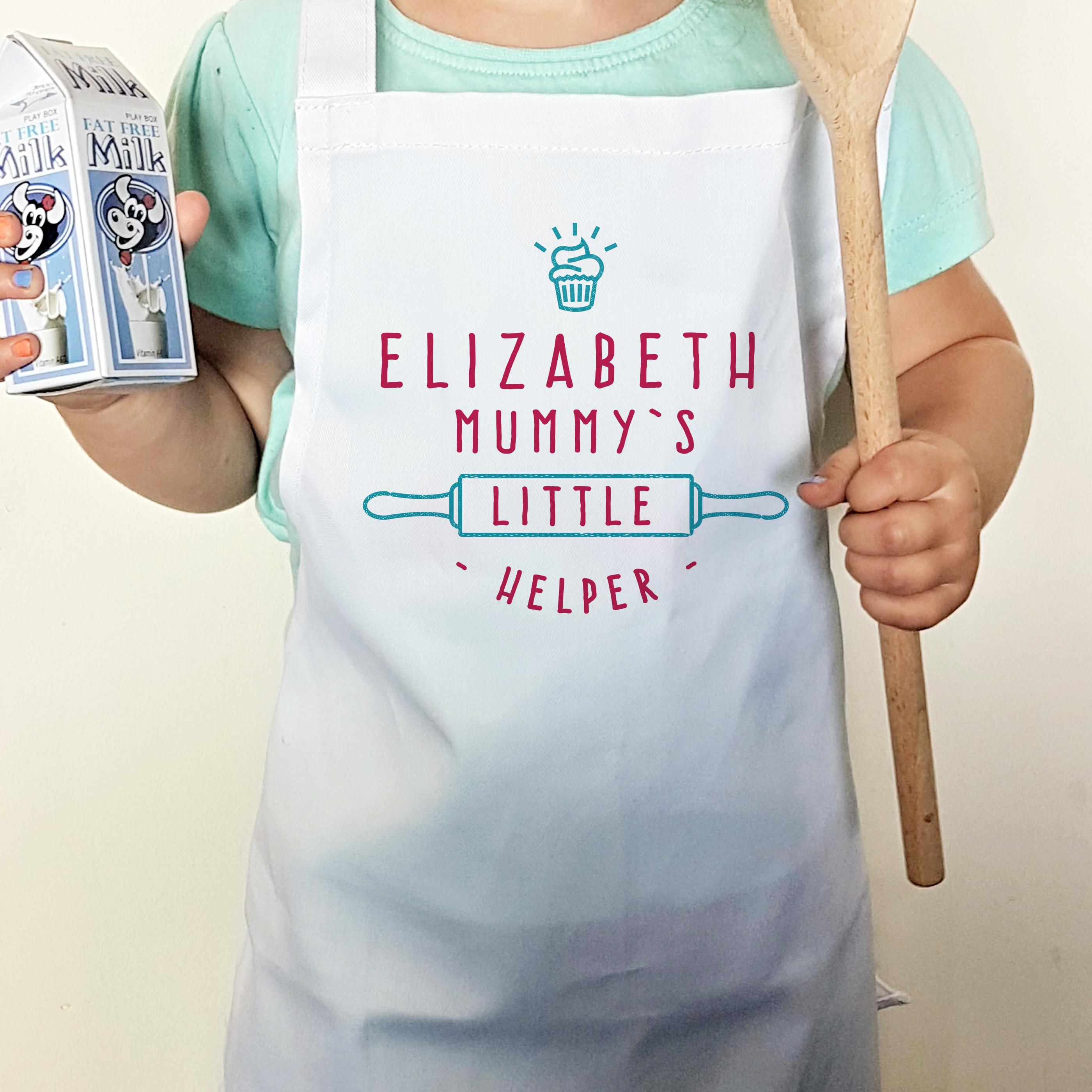 Mummy's Little Helper Cupcake Child's Apron