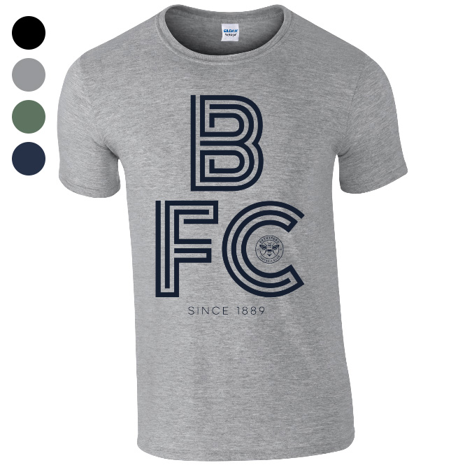 Brentford FC Stripe T-Shirt