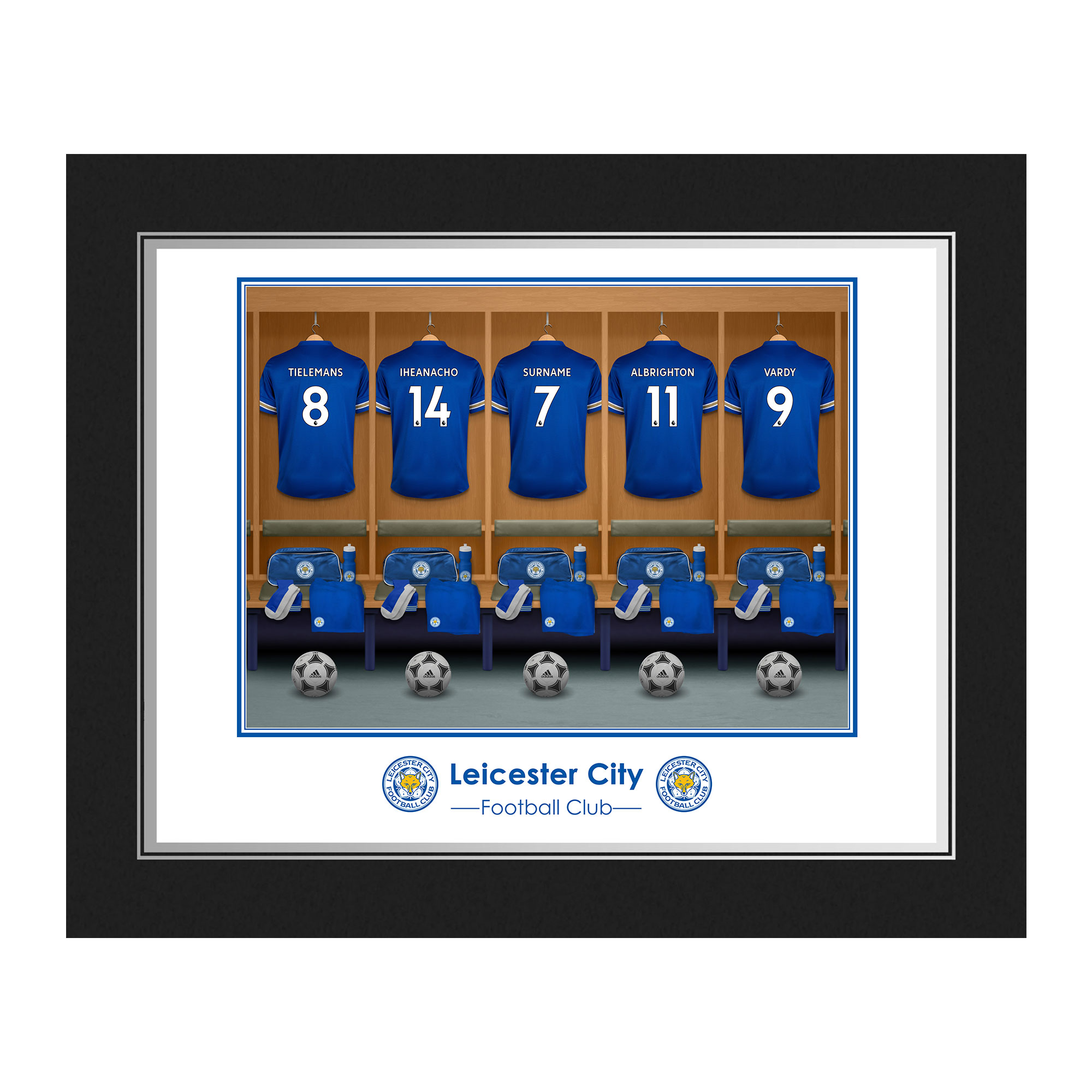Leicester City FC Dressing Room Photo Folder