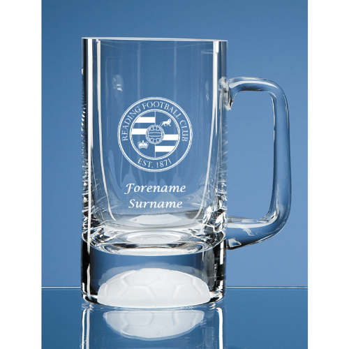 Reading FC Crest Half Pint Ball Base Tankard