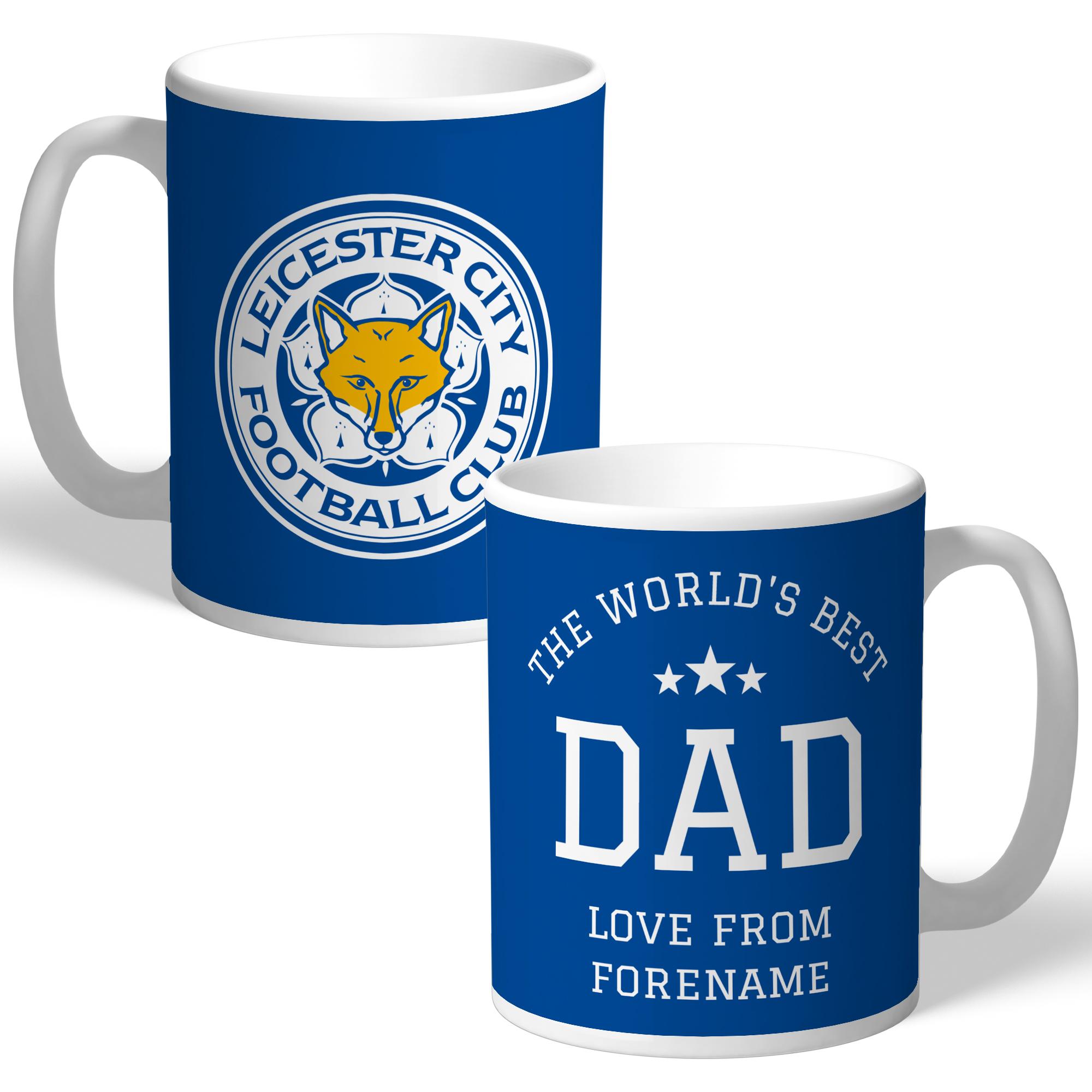 Leicester City FC World's Best Dad Mug