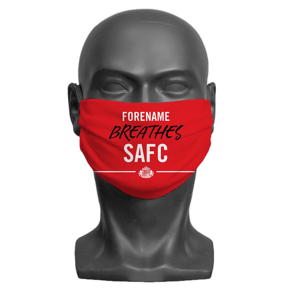 Sunderland AFC Breathes Children's Face Mask