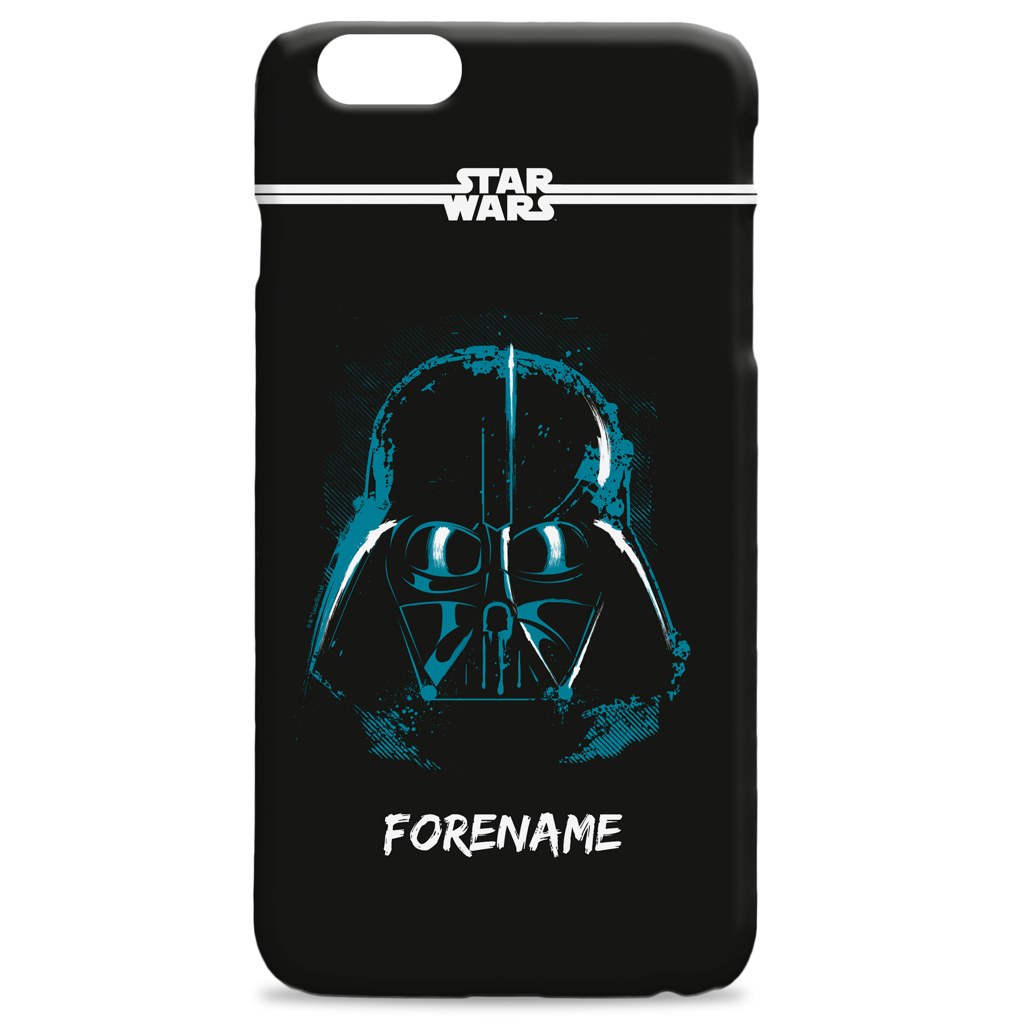 Star Wars Darth Vader Paint iPhone Phone Case