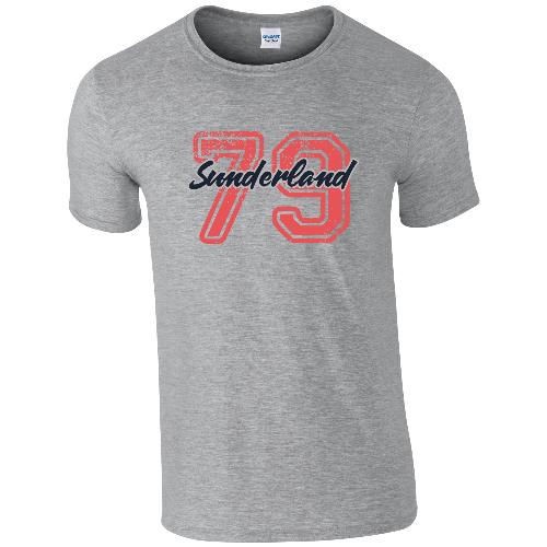 Sunderland AFC Varsity Number T-Shirt