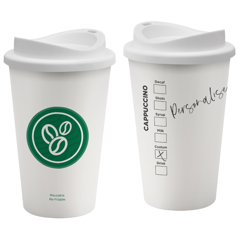 Coffeehouse Seattle Style Reusable Cup