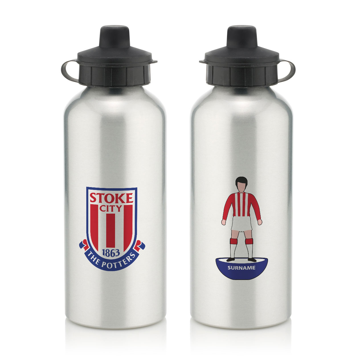 Stoke City FC Player Figure Water Bottle