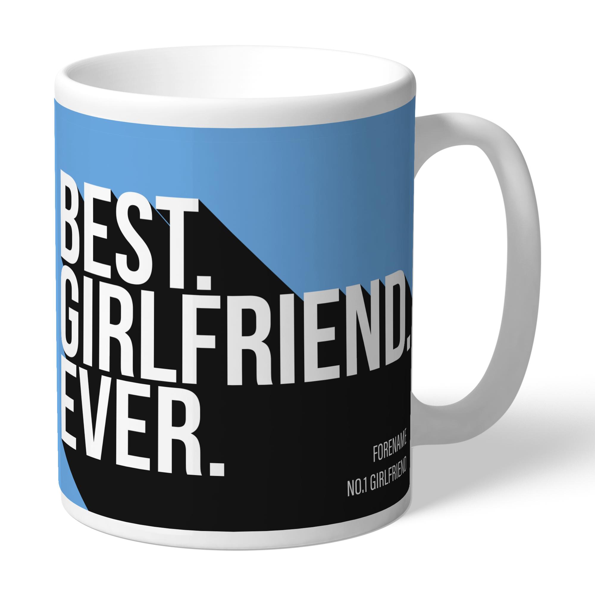 Manchester City FC Best Girlfriend Ever Mug
