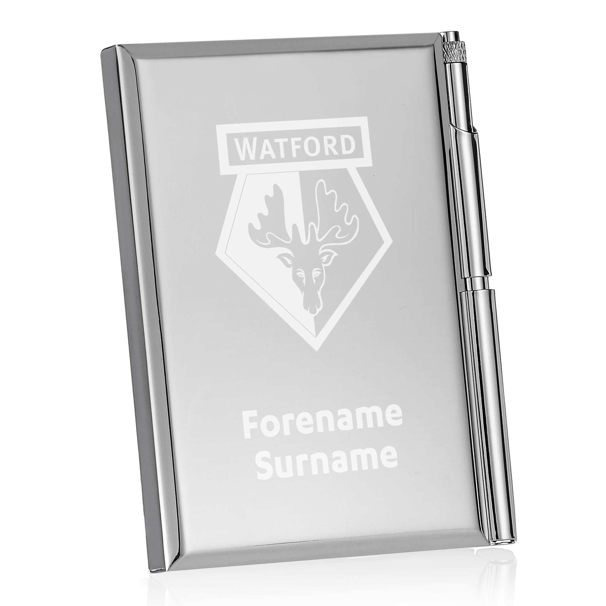 Watford FC Crest Address Book