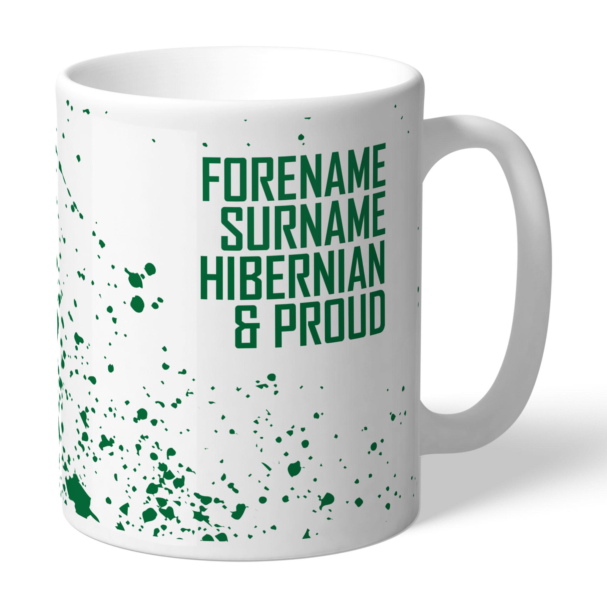 Hibernian FC Proud Mug