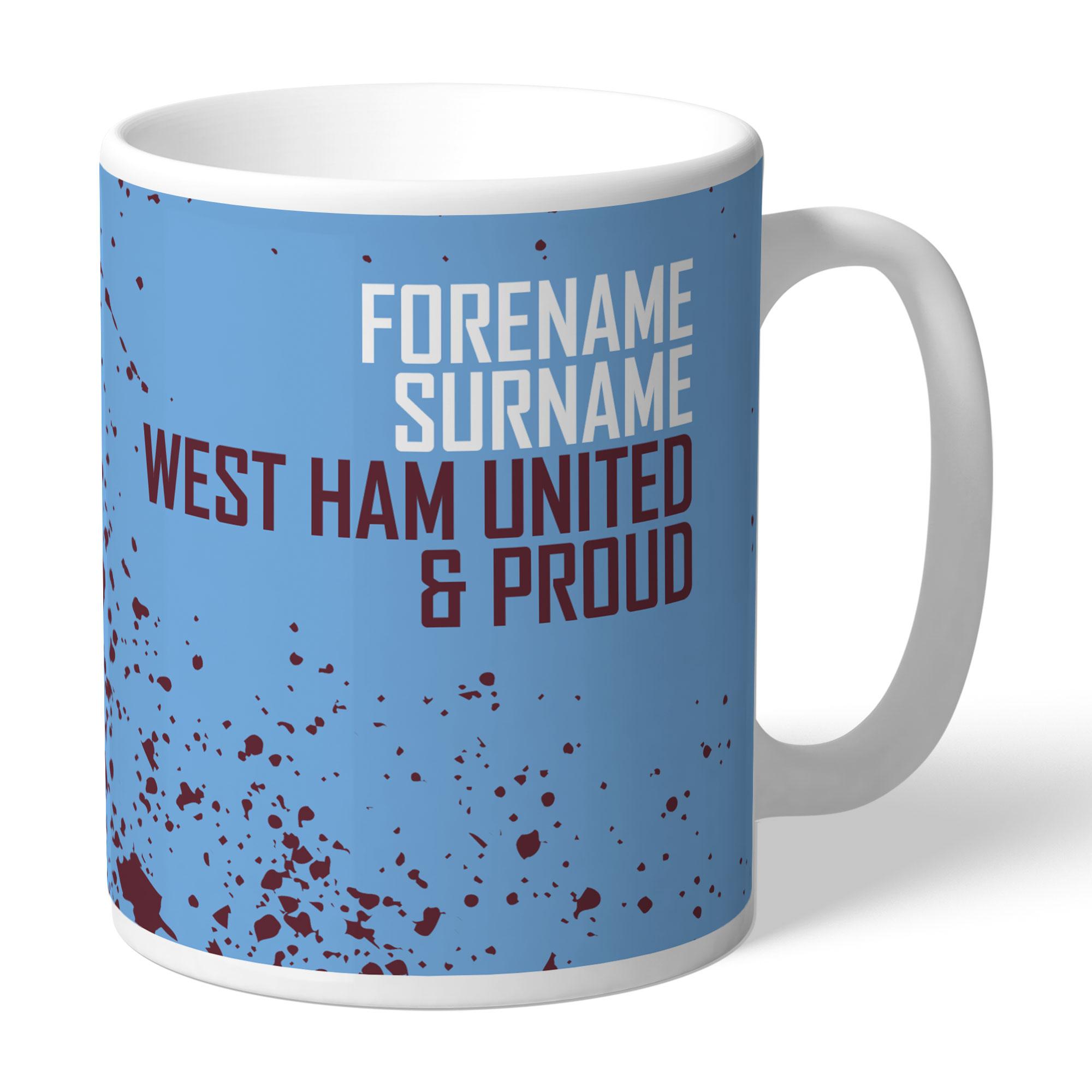 West Ham United FC Proud Mug