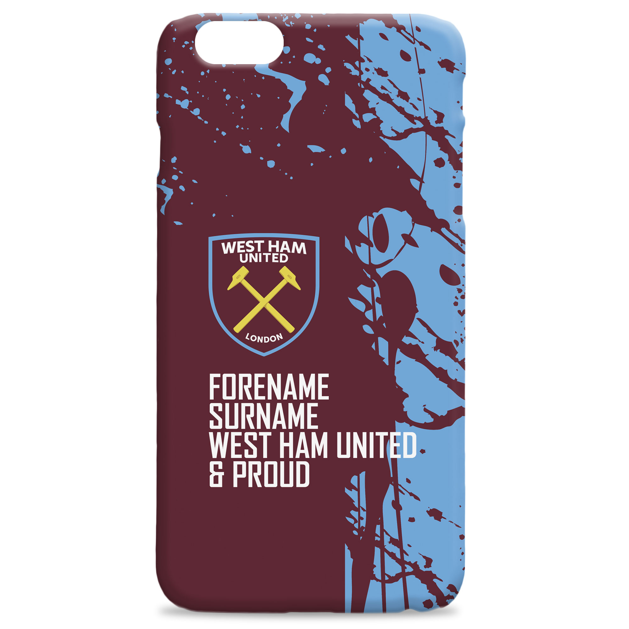 West Ham United FC Proud Hard Back Phone Case