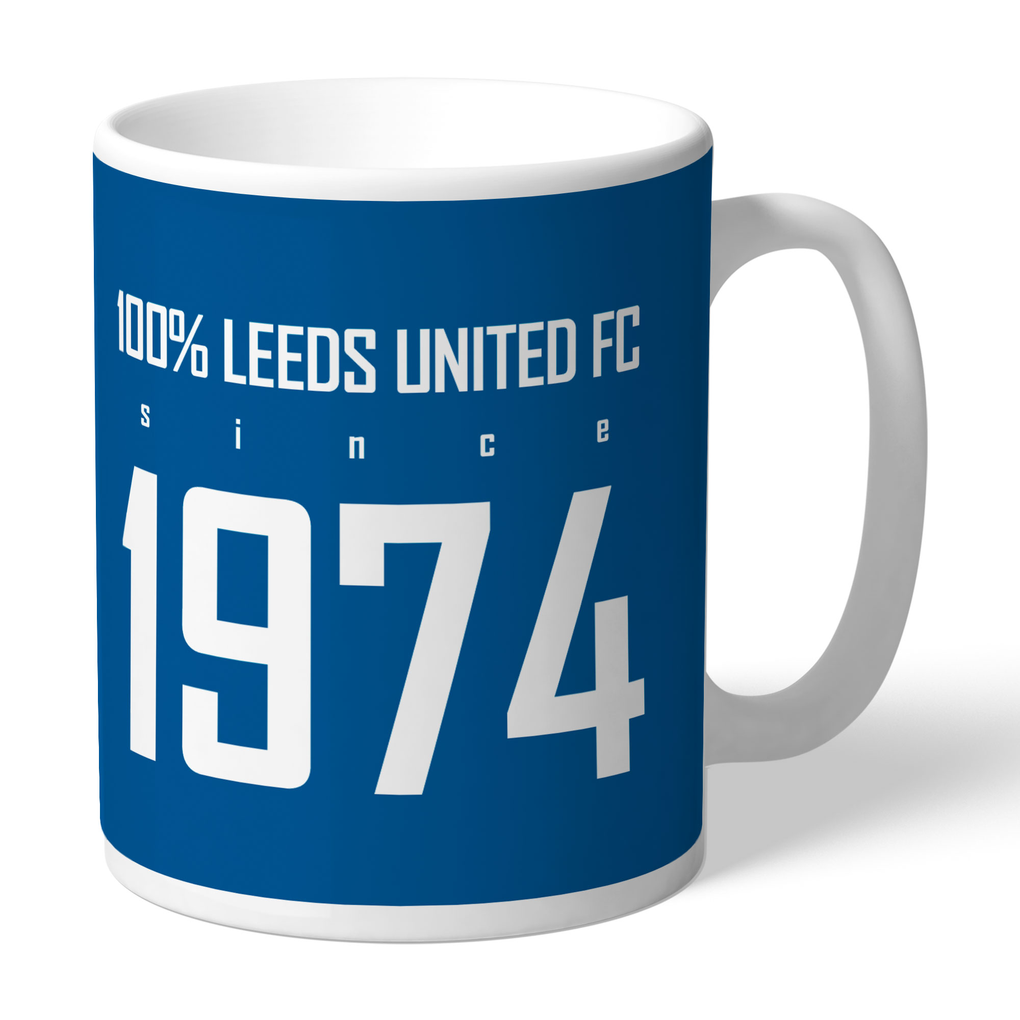 Leeds United FC 100 Percent Mug