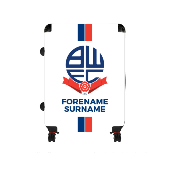 Bolton Wanderers FC Stripe Large Suitcase