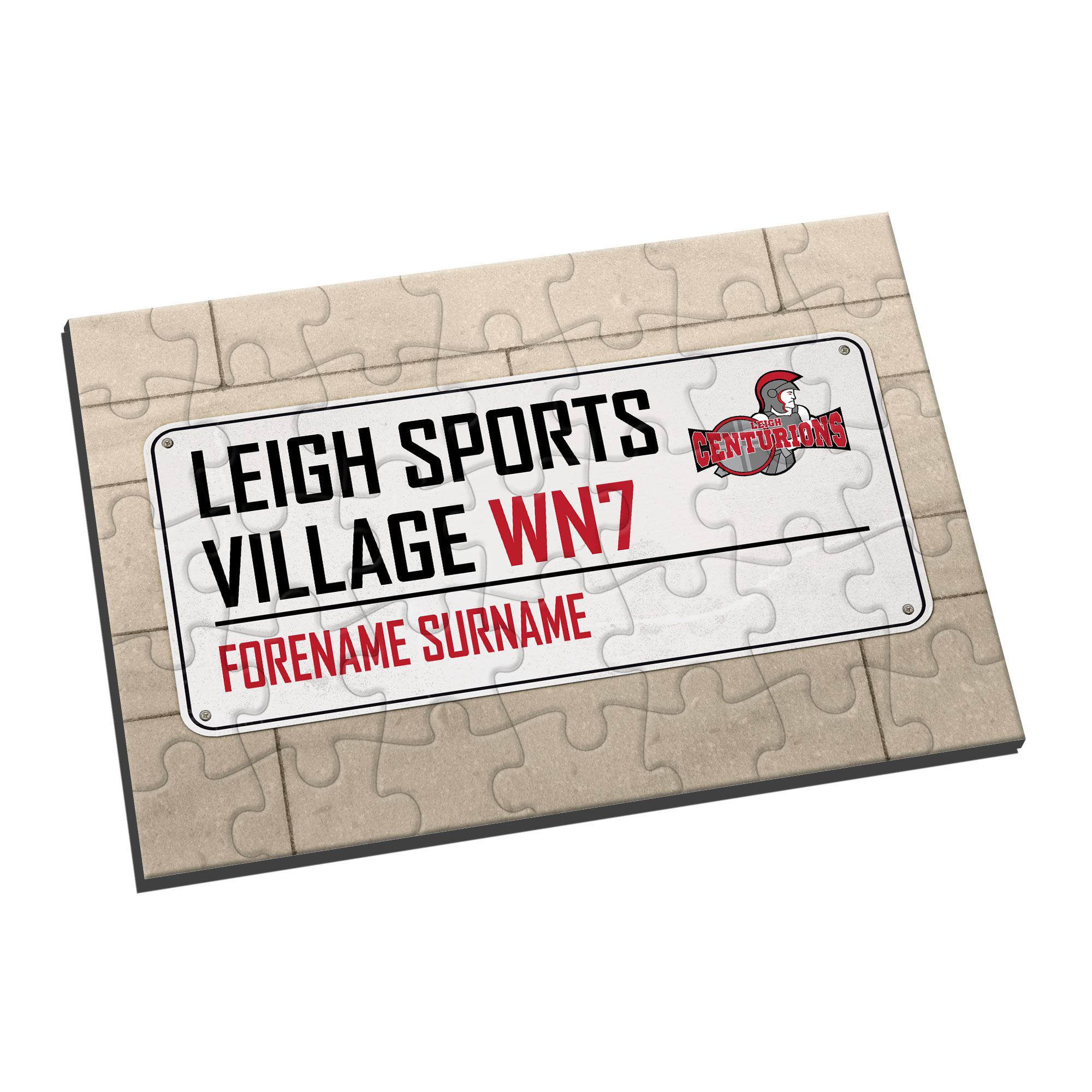 Leigh Centurions Street Sign Jigsaw