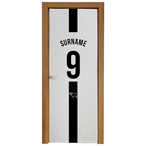 Derby County Shirt Door Banner