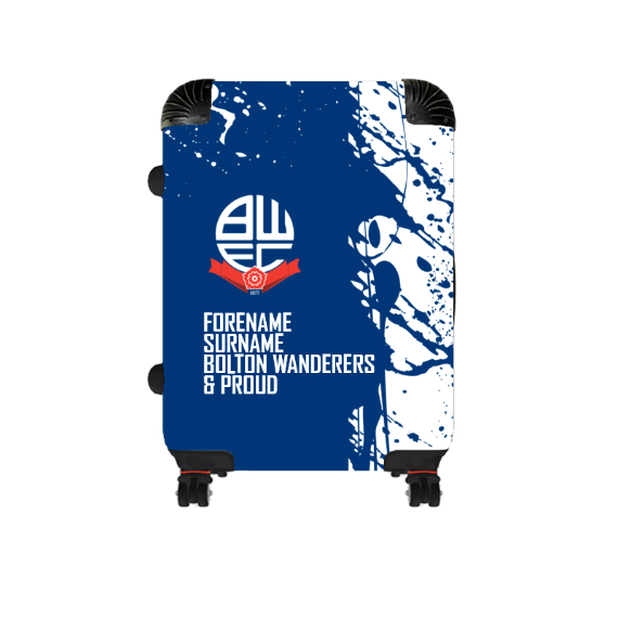 Bolton Wanderers FC Proud Cabin Suitcase