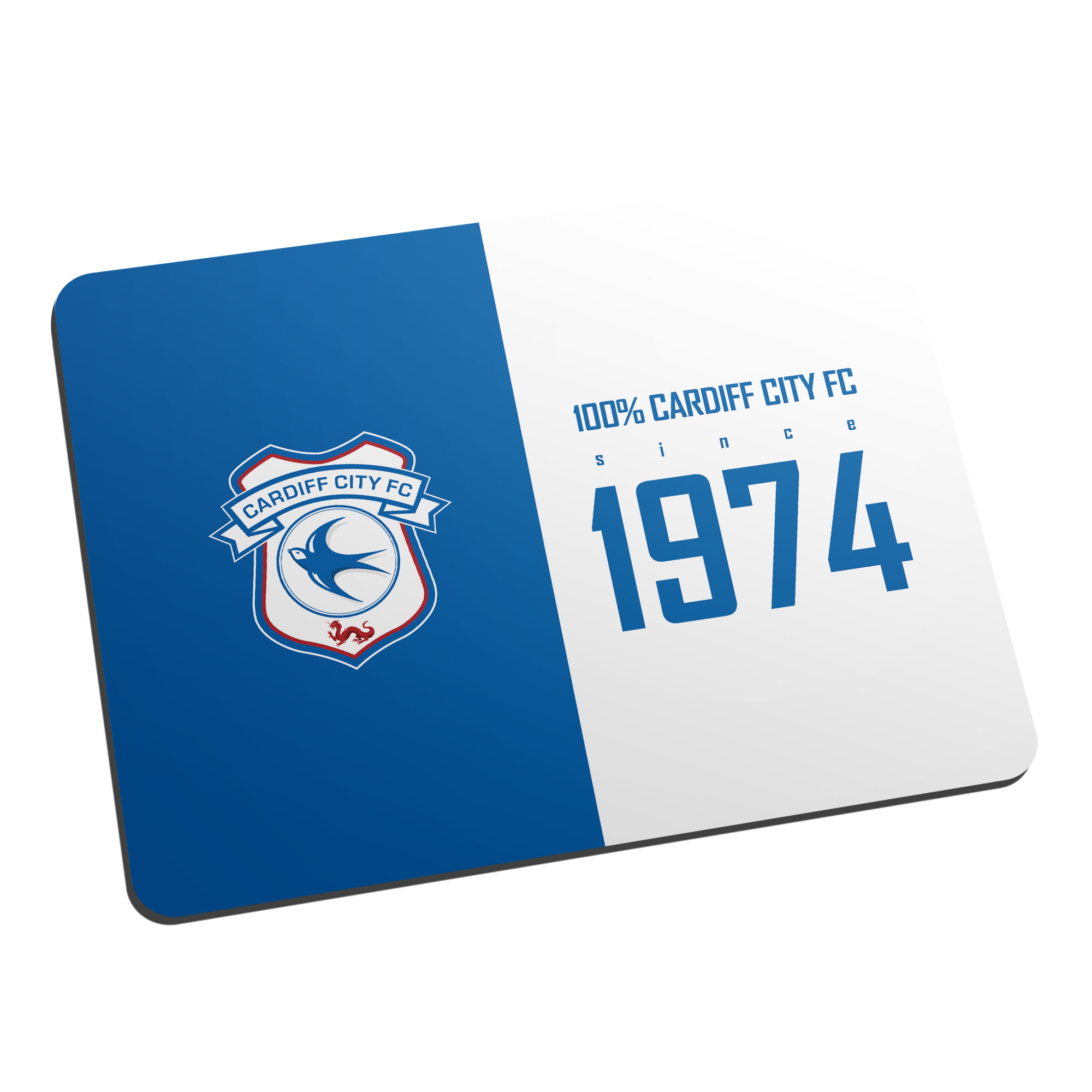 Cardiff City FC 100 Percent Mouse Mat