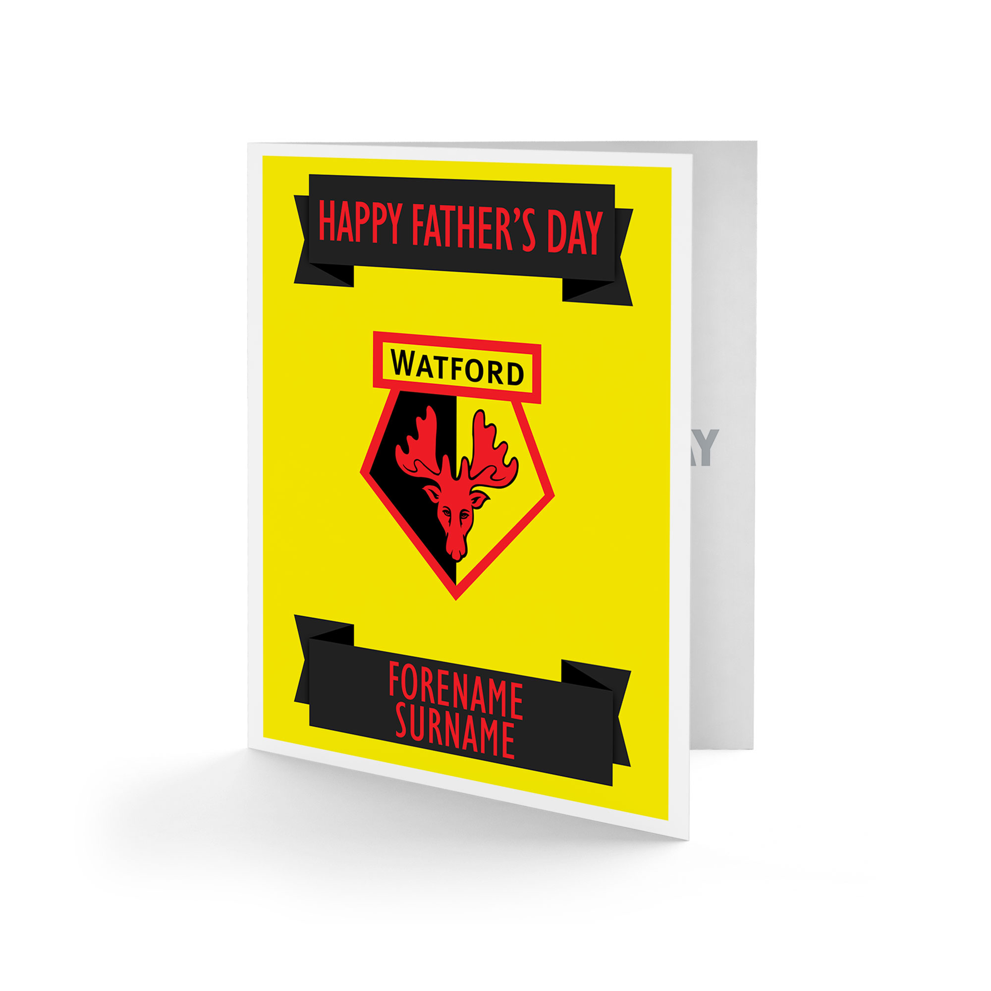 Watford FC Crest Father's Day Card