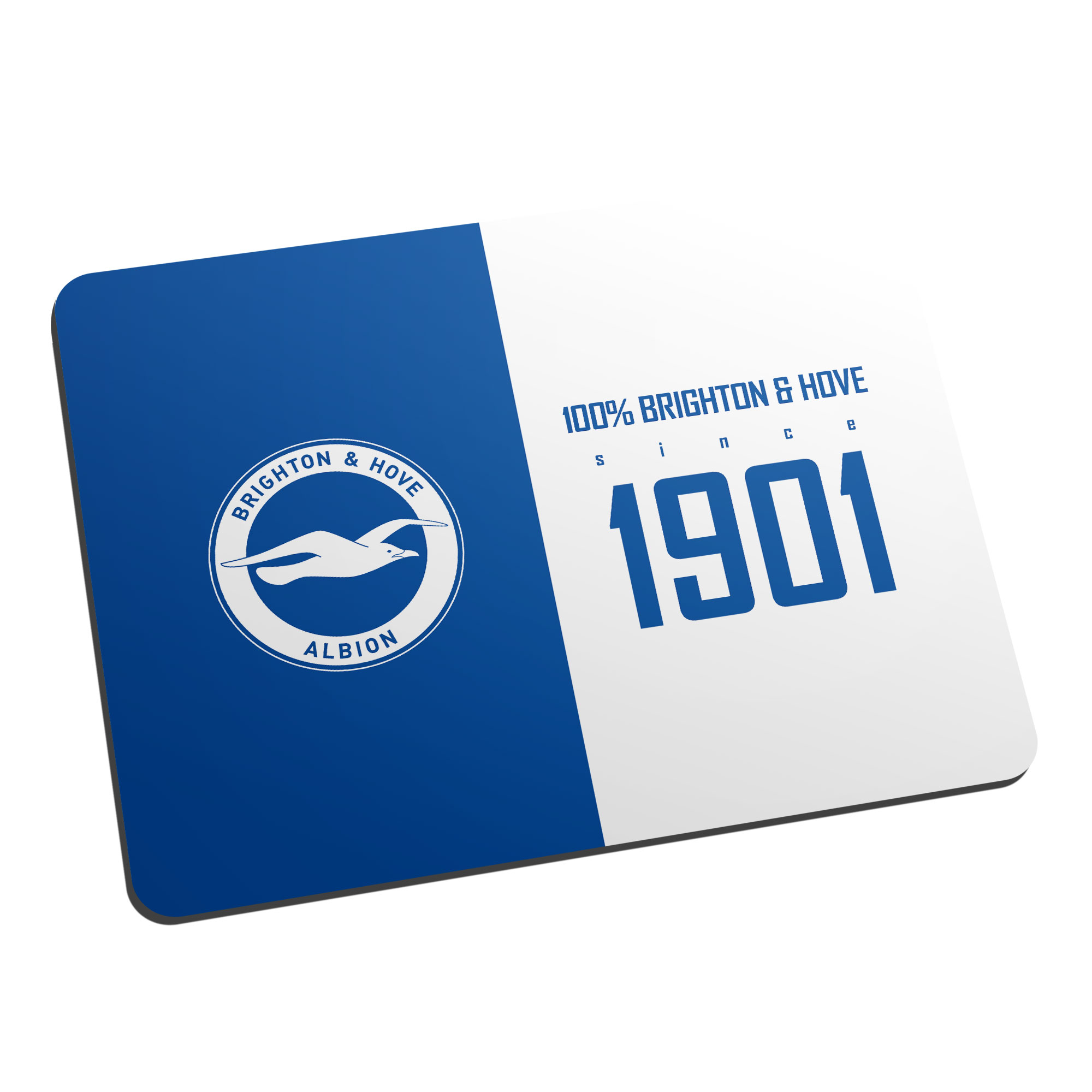 Brighton & Hove Albion FC 100 Percent Mouse Mat