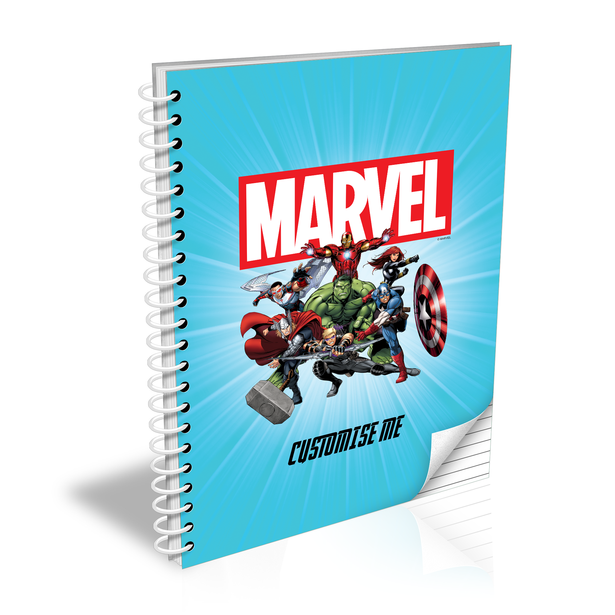 Marvel Avengers Group A5 Notepad