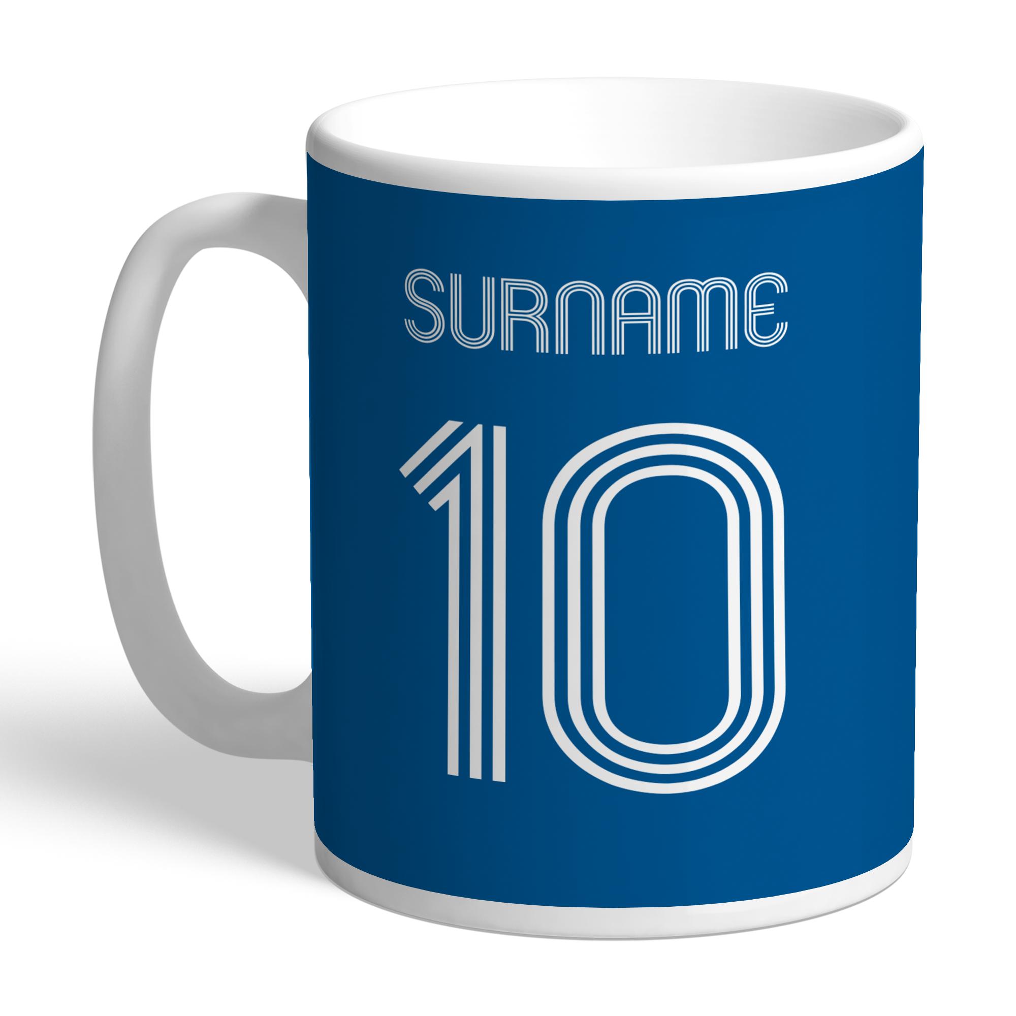 Leeds United FC Retro Shirt Mug