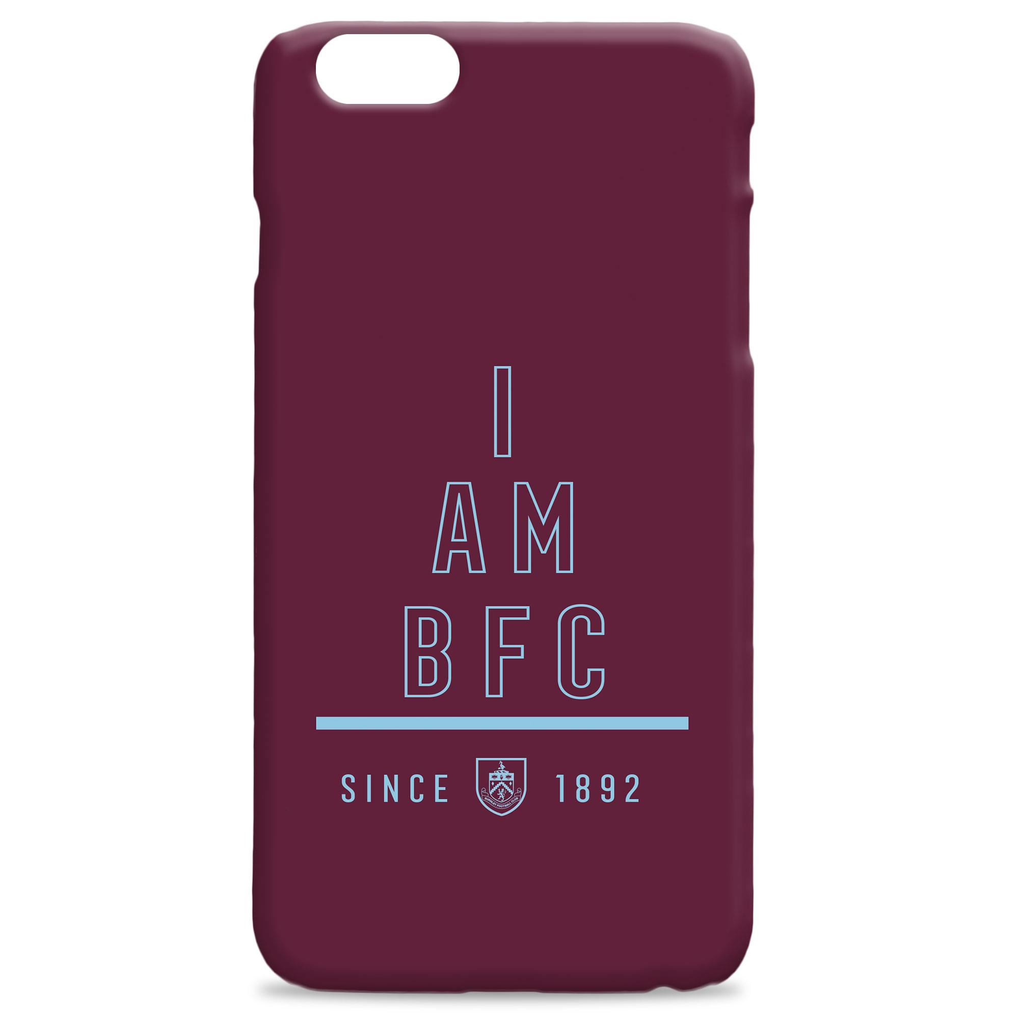 Burnley FC I Am Phone Case