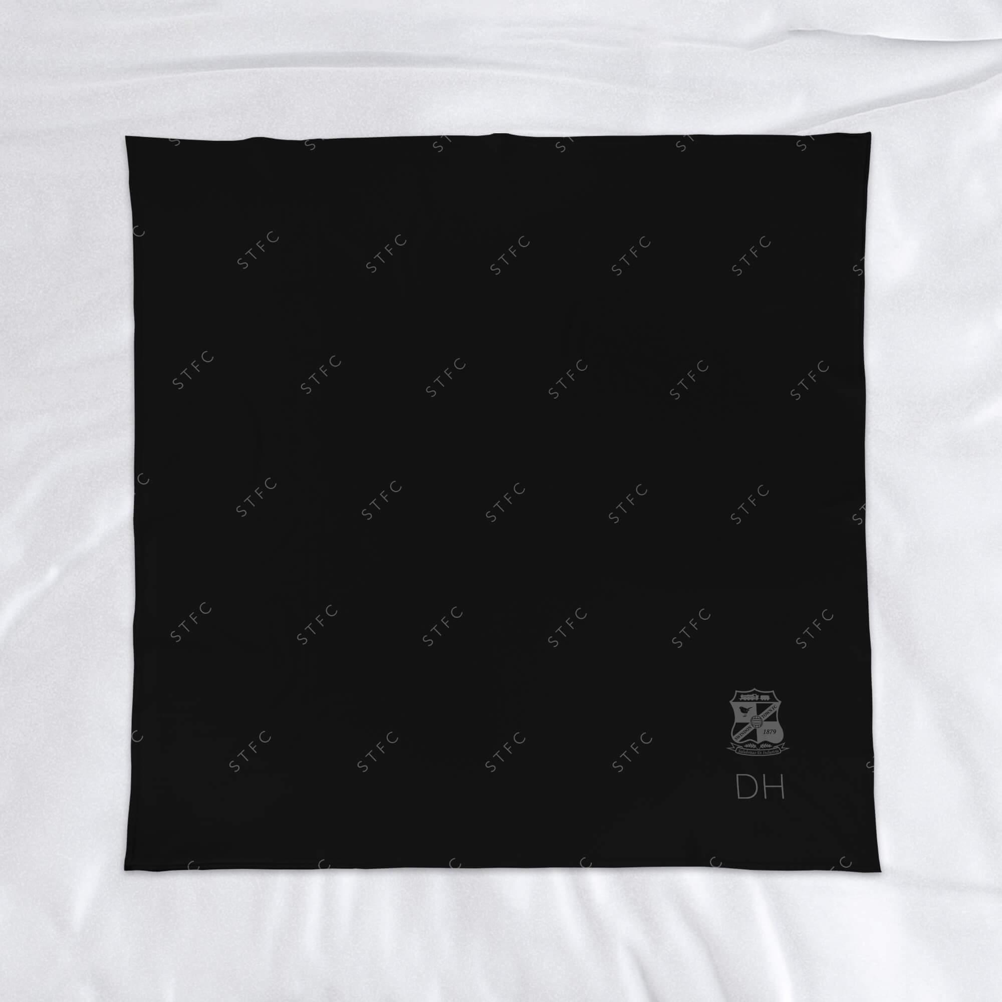 Swindon Town FC Pattern Fleece Blanket