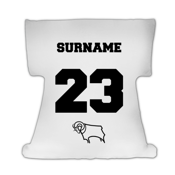 Derby County Crest Cushion