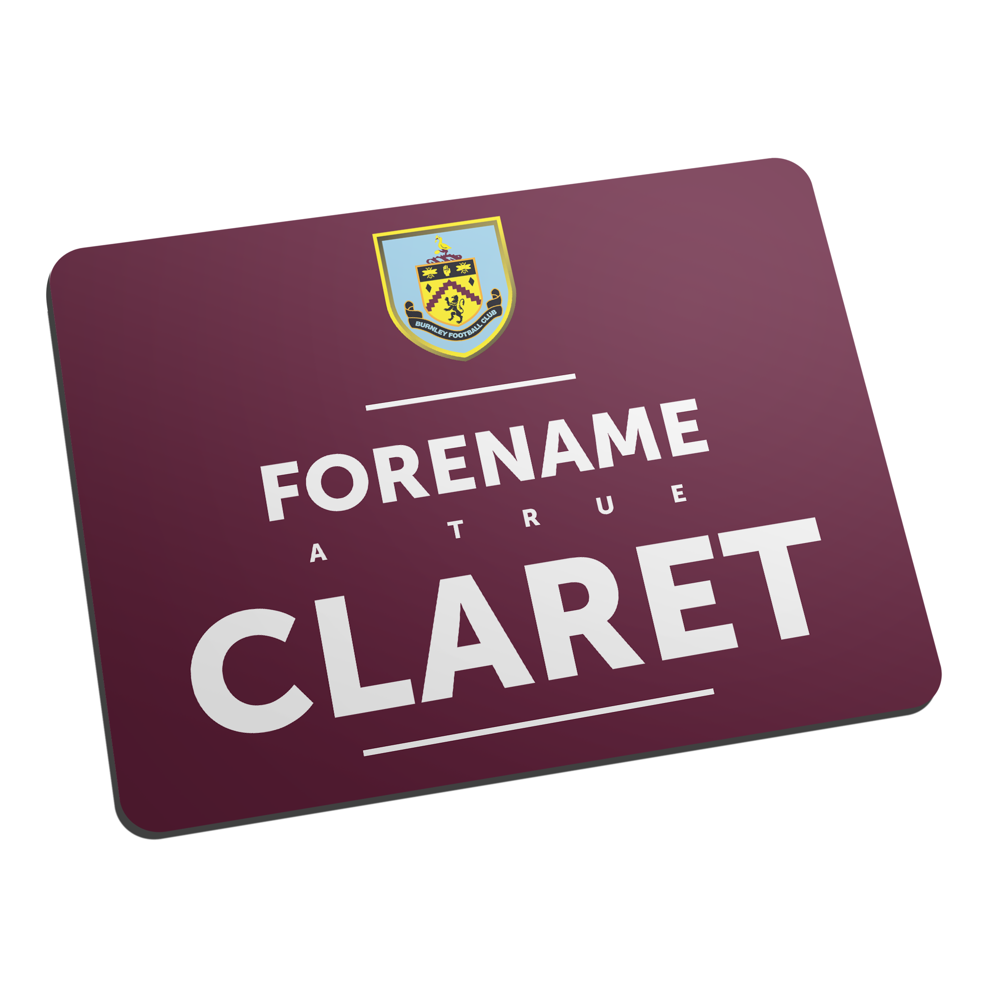 Burnley FC True Mouse Mat