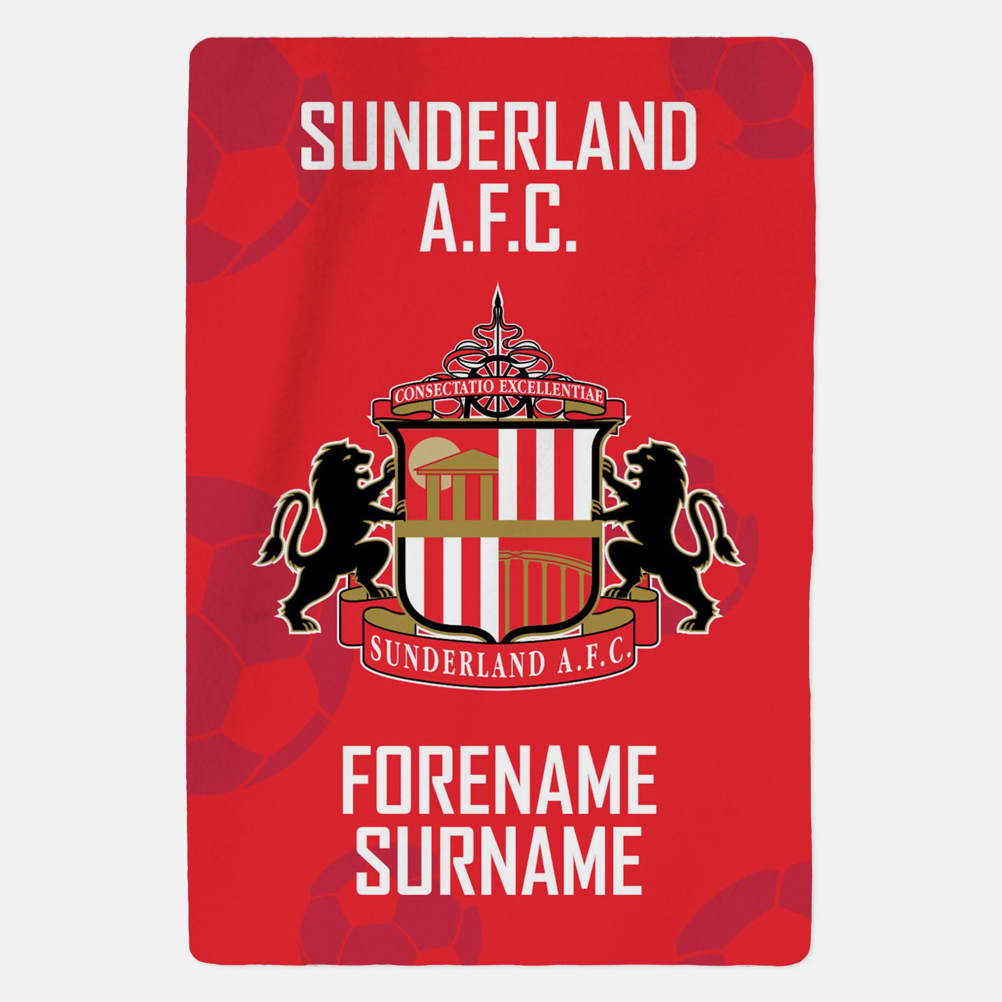 Sunderland AFC - Crest - Blanket