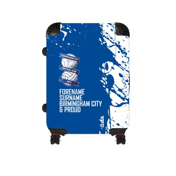 Birmingham City Proud Cabin Suitcase