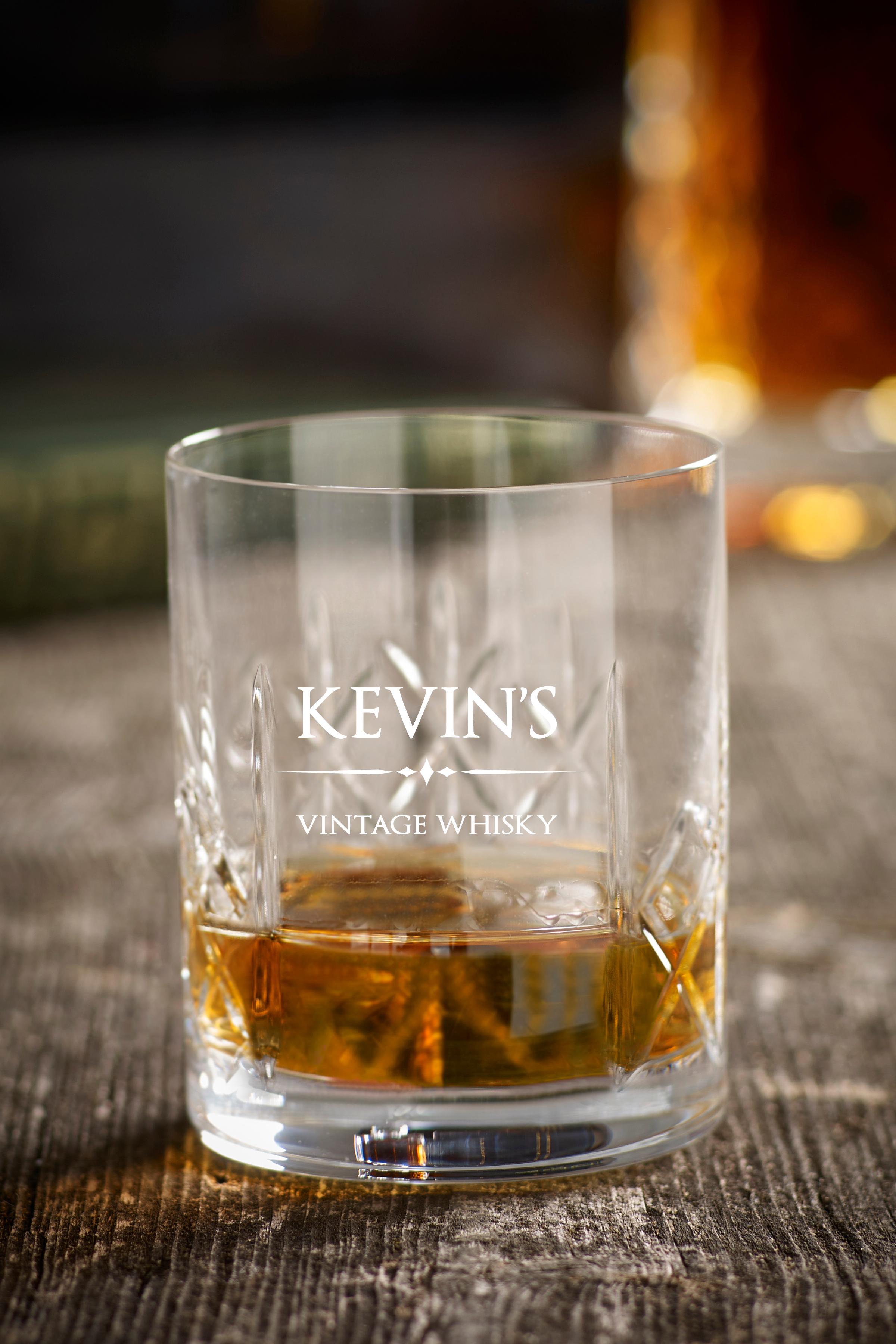 Glass Crystal Whiskey Tumbler