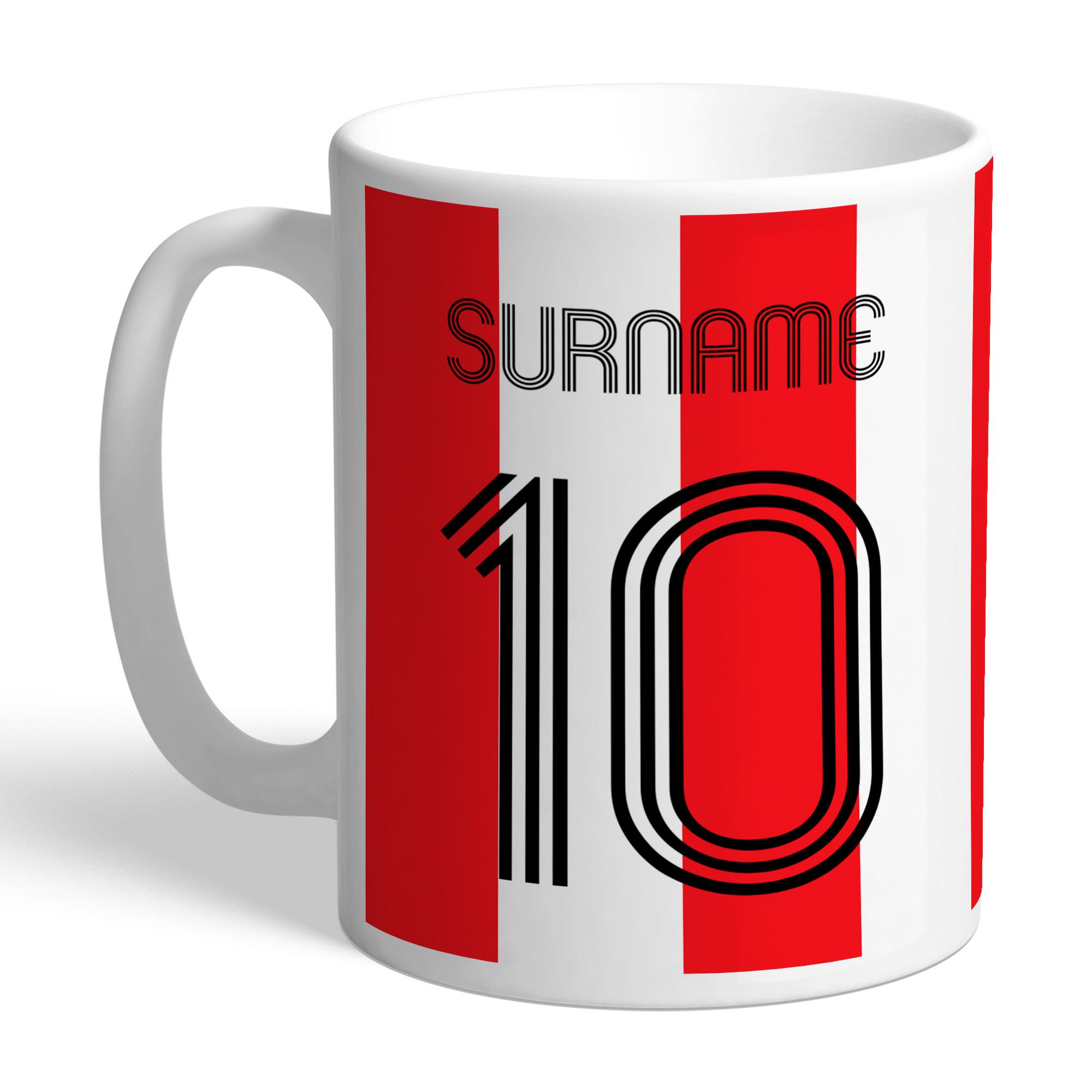 Southampton FC Retro Shirt Mug
