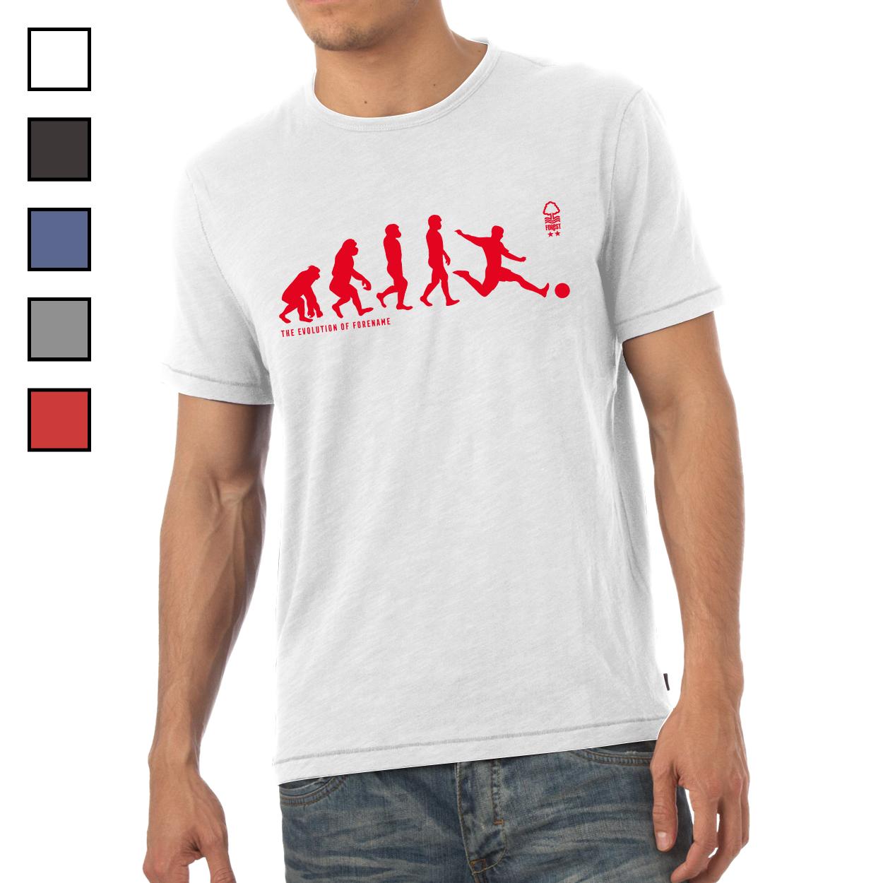 Nottingham Forest FC Evolution Mens T-Shirt