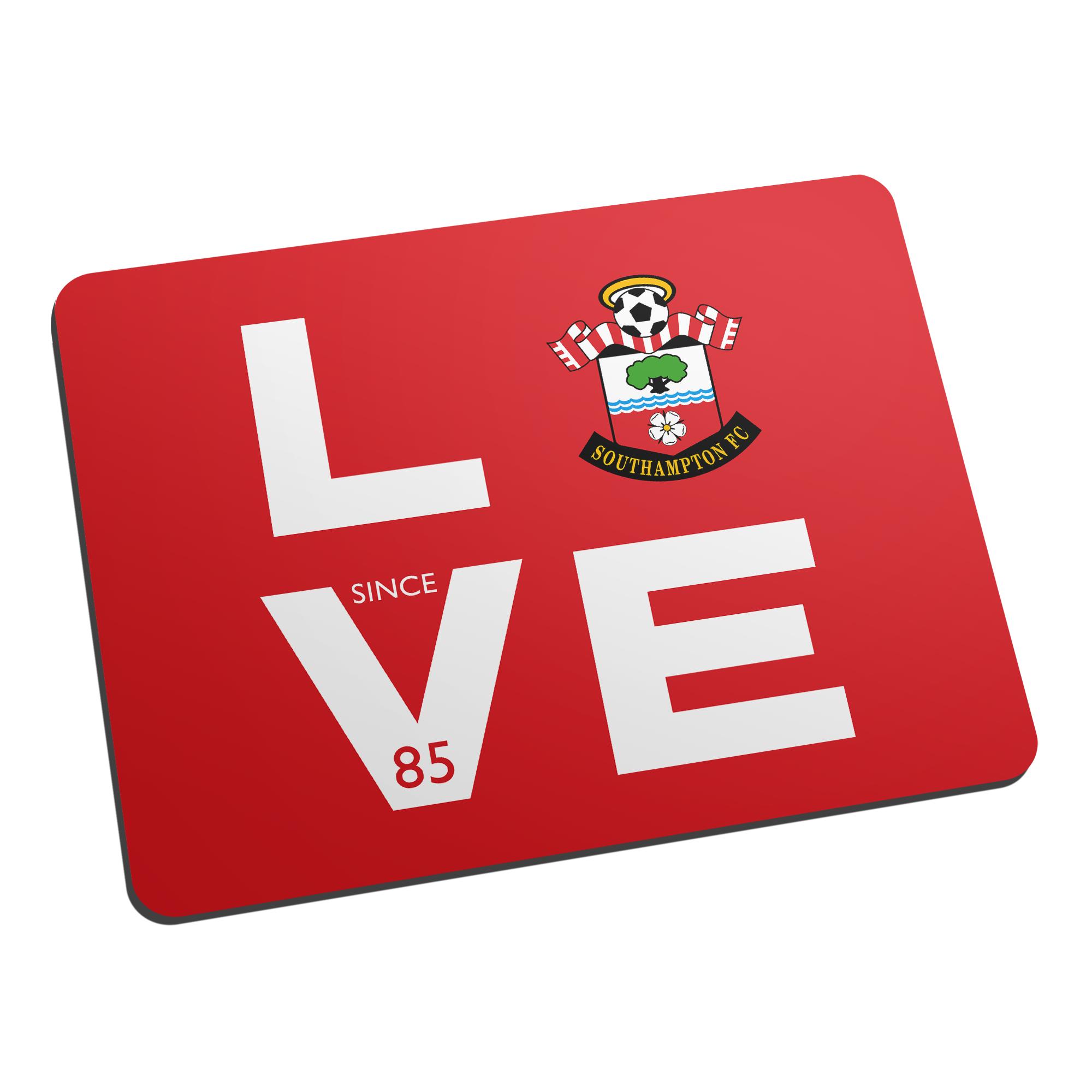 Southampton FC Love Mouse Mat