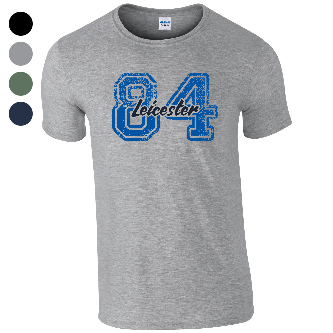 Leicester City FC Varsity Number T-Shirt