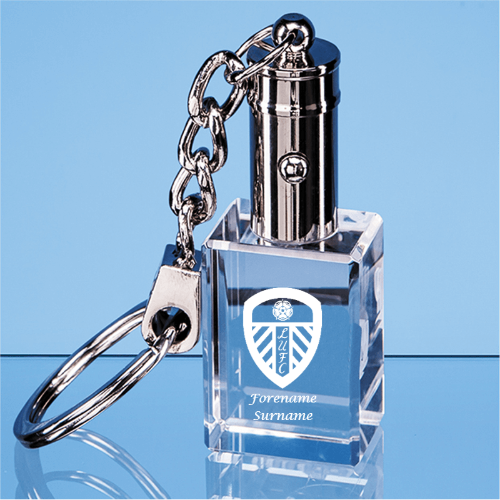 Leeds United FC Crest LED Keyring