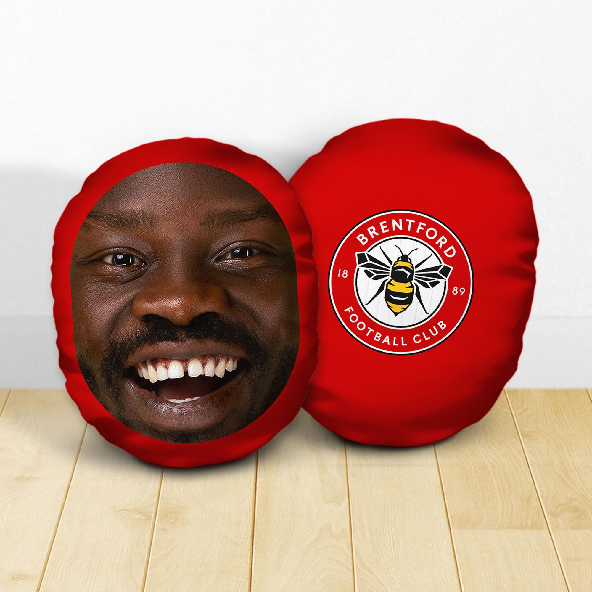 Personalised Brentford FC Crest Mush Cush
