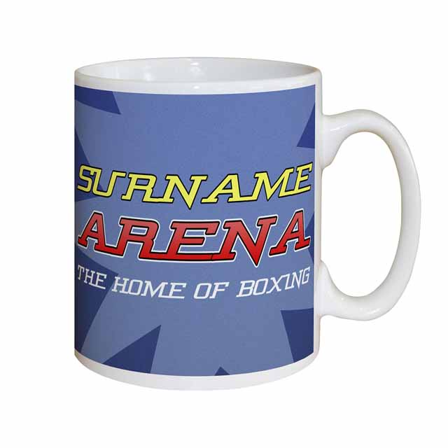 Personalised Boxing Mug